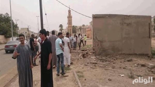 إصابة «3» أشخاص بينهم امرأة إثر سقوط مقذوف حوثي على صامطة