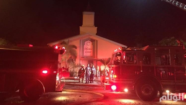 أمريكا: إحراق مسجد كان يرتاده منفذ هجوم أورلاندو