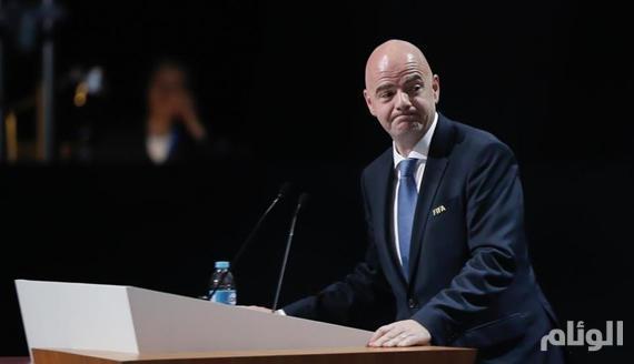 إعادة انتخاب جاني انفانتنيو رئيساً لـ«الفيفا» بالتزكية