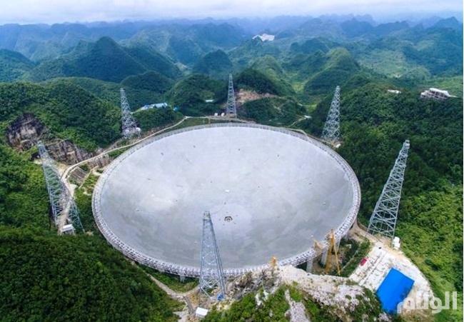 الصين تبدأ في استخدام أكبر تلسكوب في العالم للبحث عن كائناتٍ فضائية