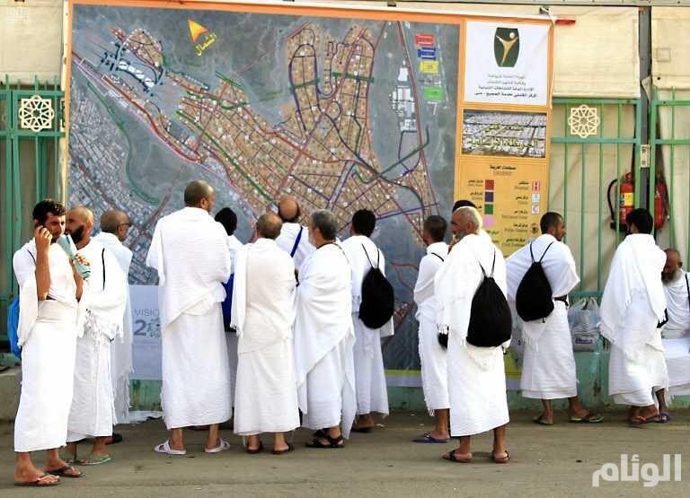 الجوازات: وصول أكثر من مليون حاج إلى المملكة
