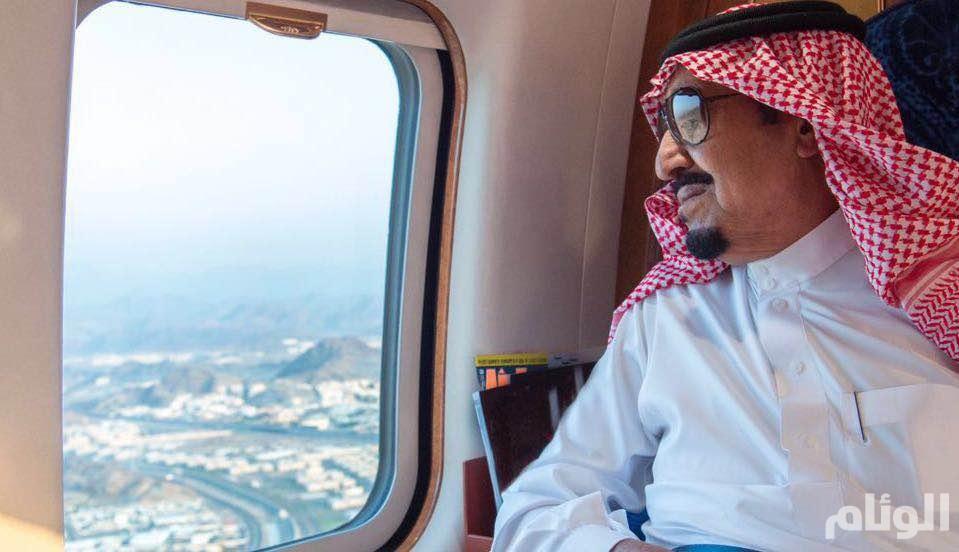 الملك سلمان يغادر الرياض إلى روسيا