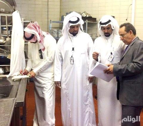 أمانة نجران ترصد عدد من المخالفات بمطاعم فنادق المنطقة