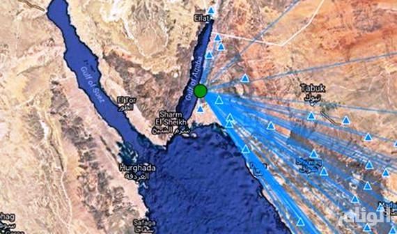 هزتان أرضيتان بقوة «3.6» بالقرب من محافظة البدع في تبوك