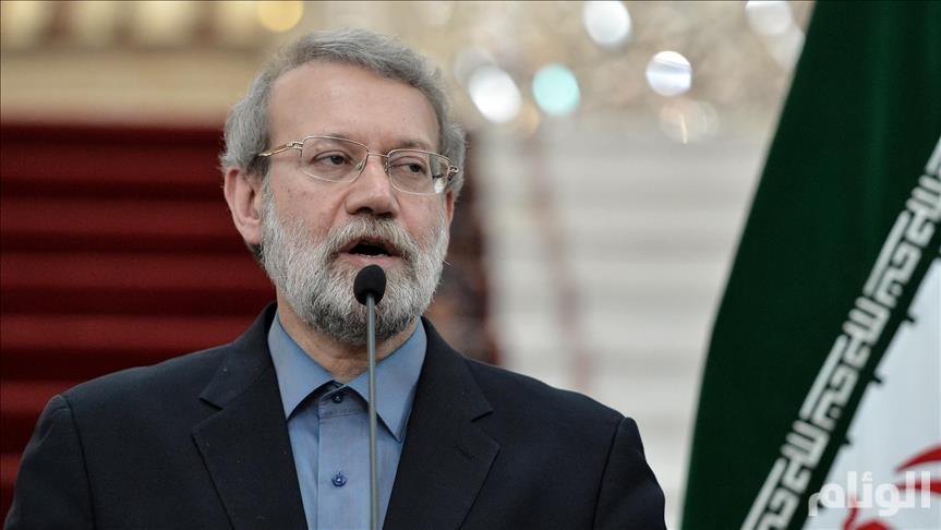"""رئيس البرلمان الإيراني ينتقد تقاضي مسؤولين في الدولة رواتب """"فلكية"""""""