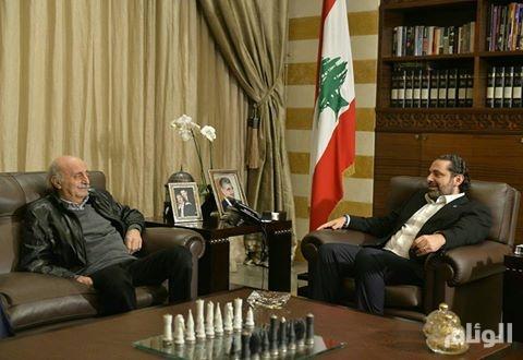 الحريري يبحث مع جنبلاط في مسار تأليف الحكومة