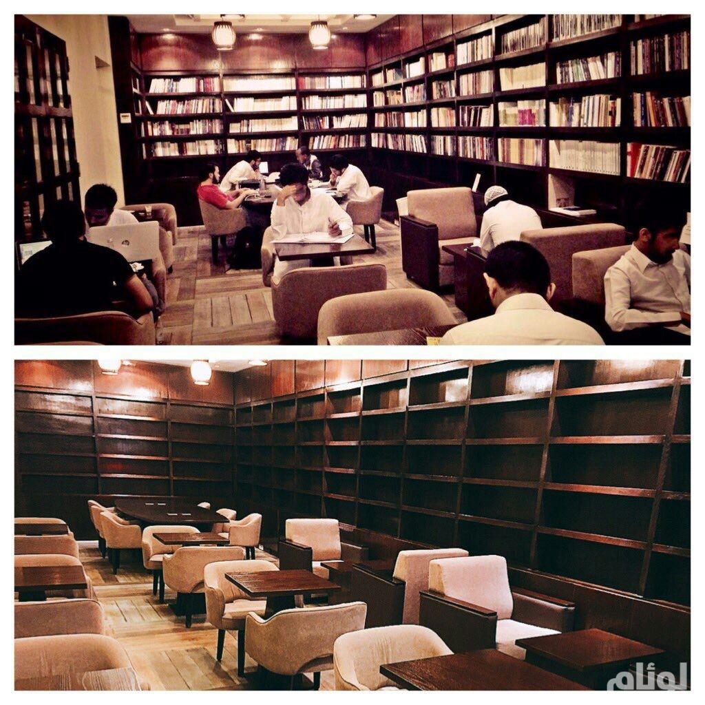 الثقافة والإعلام: مصادرة كتب مقهى الراوي لعدم وجود فسوحات عليها