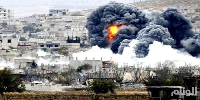بينهم خمسة أطفال.. ضربات جوية تقتل «18» في محافظة إدلب