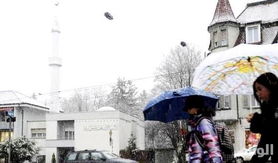 إصابة ثلاثة أشخاص في إطلاق نار بمركز إسلامي في سويسرا