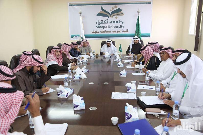 بالصور.. مدير جامعة شقراء يتفقد الكليات بمحافظة عفيف