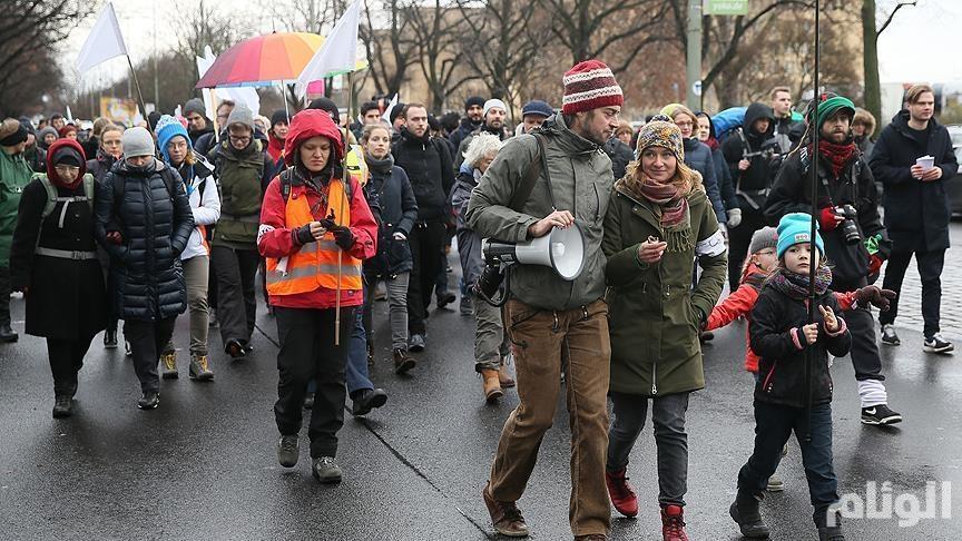 انطلاق مسيرة مدنيّة لدعم حلـب من ألمانيا إلـى سوريا