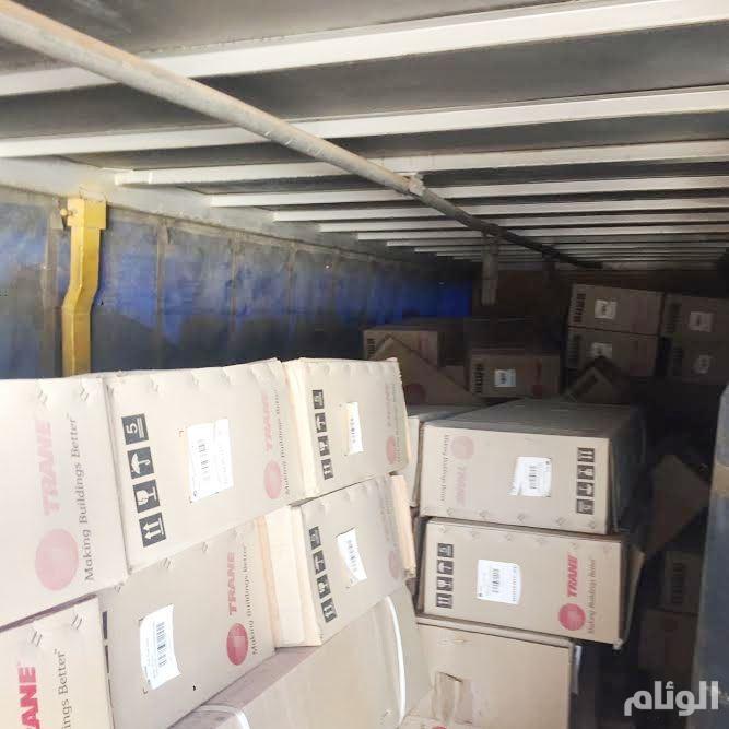 بالصور.. شرطة الرياض تقبض على باكستانيين تورطوا بسرقة مكيفات بأكثر من مليون ريال