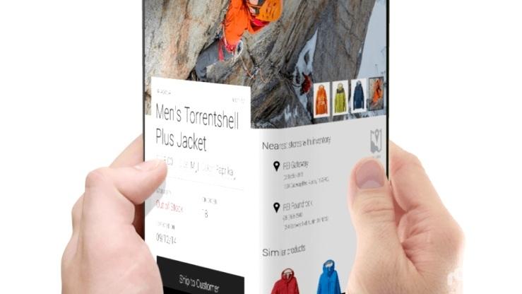 سامسونج وإل جي تتسابقان لإطلاق هواتف قابلة للطي في 2017