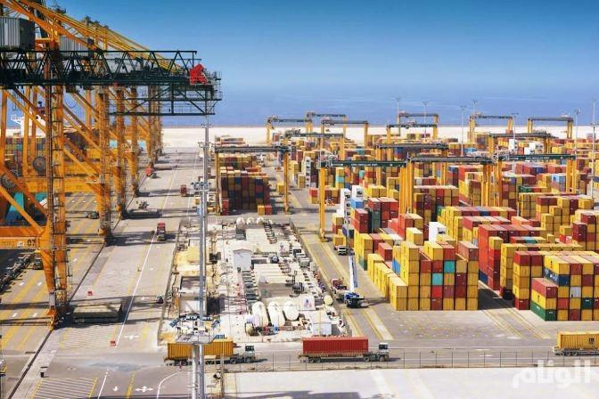 إرتفاع الطاقة الانتاجية السنوية بميناء الملك عبدالله إلى «1.4» مليون حاوية