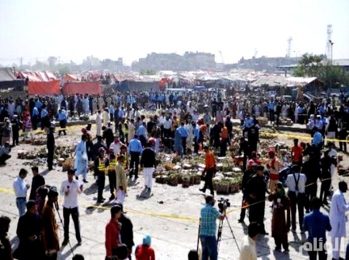 باكستان: مقتل وإصابة العشرات في انفجار قنبلة بسوق للخضروات