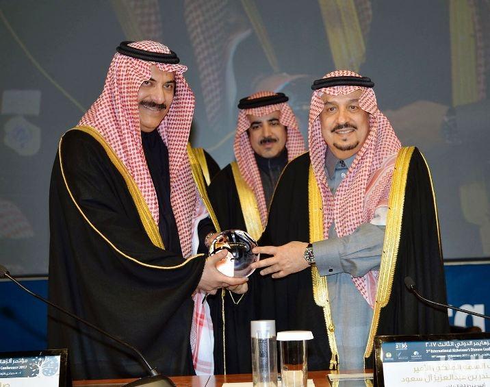 بالصور.. «أمير الرياض» يفتتح مؤتمر الزهايمر الدولي الثالث
