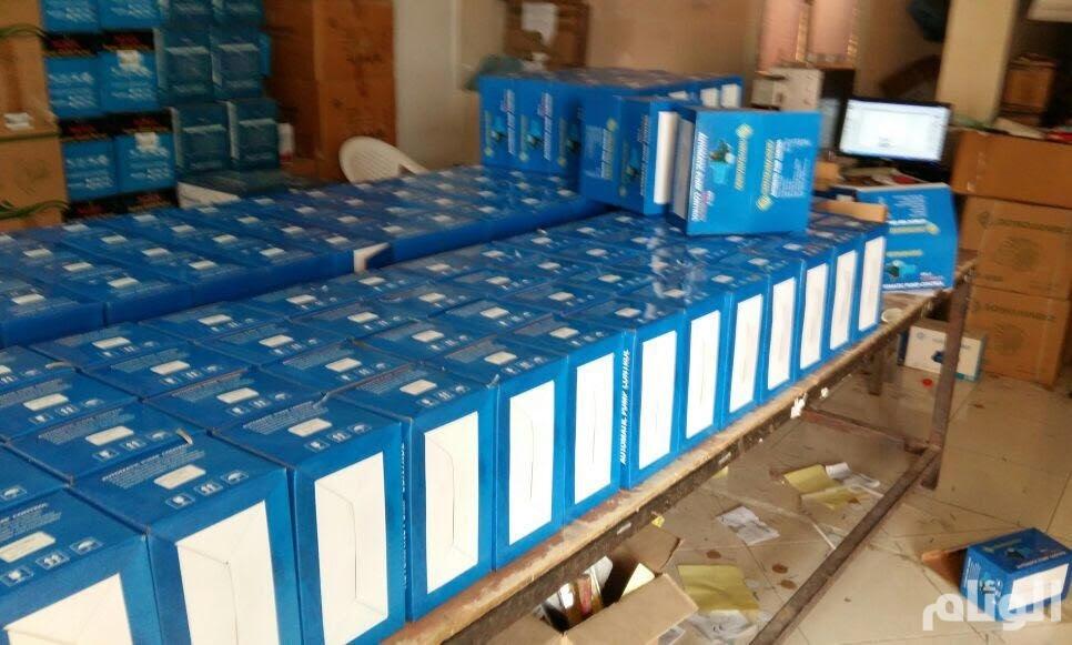 «أمانة جدة» تحبط بيع مولدات كهربائية تحمل علامات تجارية مزورة