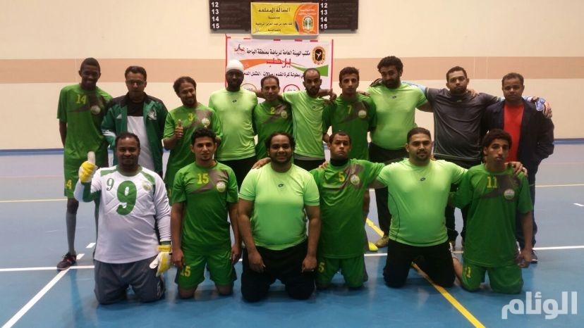 نادي جدة لذوي الإعاقة يتصدر مجموعته في كرة القدم للصالات