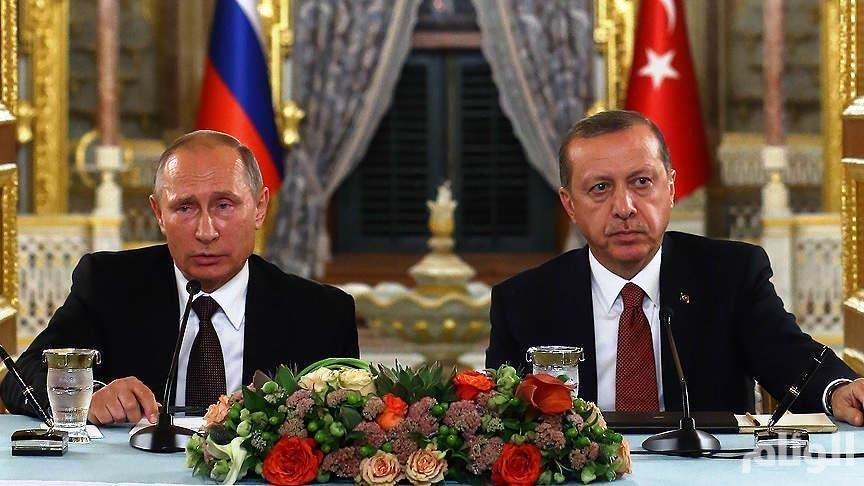 بوتين يعزي أردوغان بمقتل جنود أتراك بقصف روسي «خطأ» شمالي سوريا