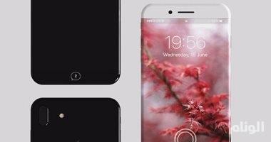 هاتف آيفون 8 بشاشة قياس 5,6 بوصة