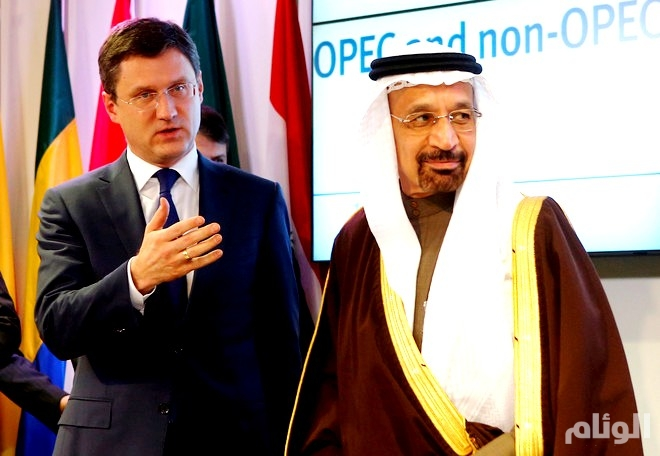 وزير الطاقة الروسي يقول إنه مستعد لاتخاذ قرار مشترك مع السعودية