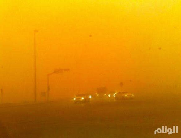 الأرصاد: تدني الرؤية الأفقية بسبب الغبار في 8 مناطق سعودية