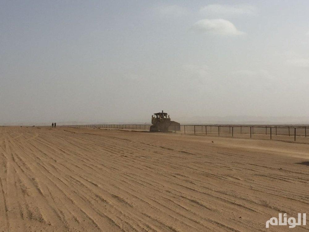 إزالة تعديات على مساحة 24 مليون متر مربع بأملج