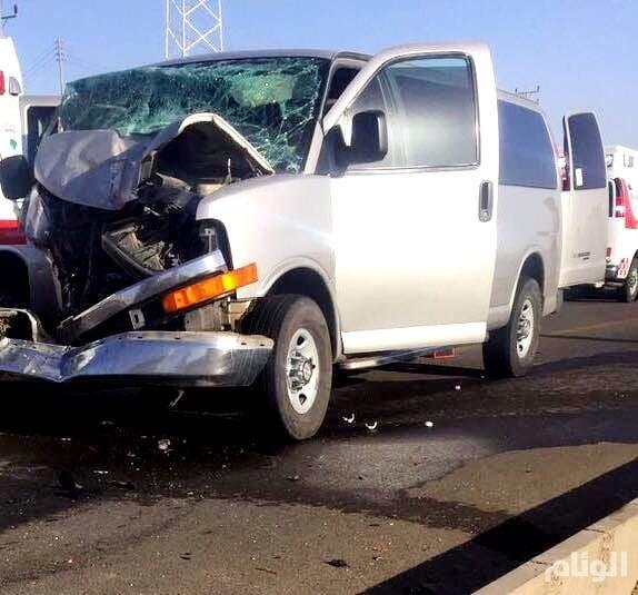 مصرع وإصابة «4» معلمات في حادث مروع بالليث