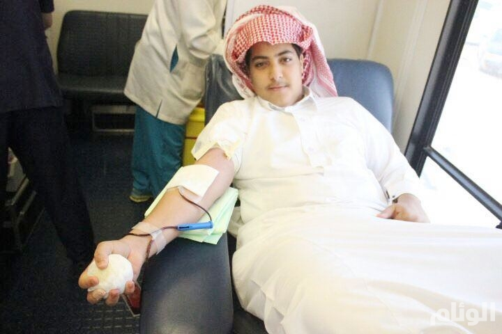تدشين حملة تبرع بالدم في الابتدائية «336» بالرياض