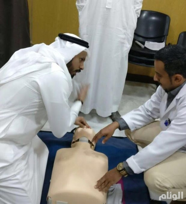 تدريب «1000» مسعف من منسوبي تعليم مكة على حالات القلب الإسعافية