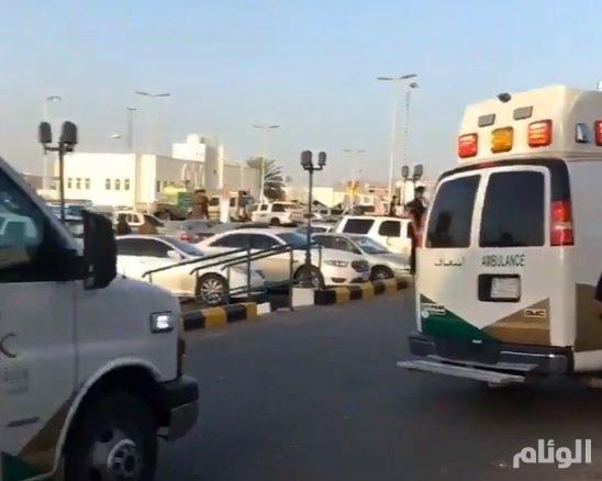 وفاة مواطن بعد نقله من مستشفى الملك خالد إثر حريق اليوم