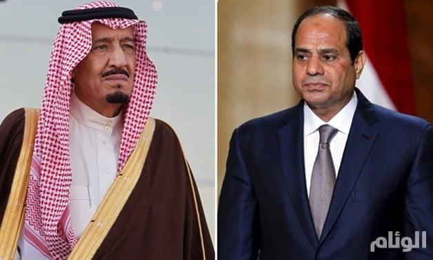 خادم الحرمين الشريفين يؤكد وقوف المملكة مع مصر في التصدي للإرهاب