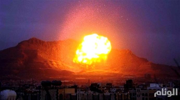 التحالف العربي يحبط هجوماًَ لــ«زورق» مفخخ بميناء المخا