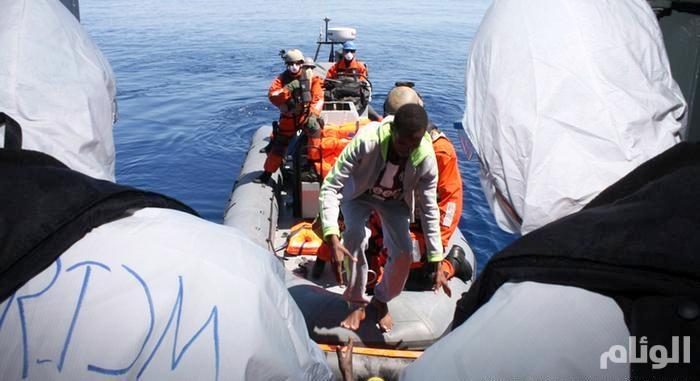 خفر السواحل اليوناني يحتجز 33 مهاجرا