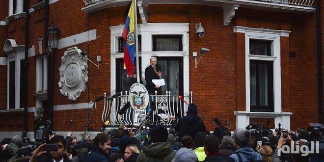 بريطانيا تتعهد بالقبض على مؤسس موقع ويكيليكس