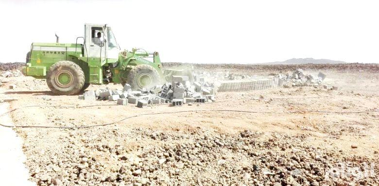 «أمانة المدينة» تزيل تعديات على الأراضي الحكومية