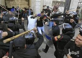 احتجاجات عمالية في مختلف المدن وقمع القرويين وعمال المناجم المحتجين في تكاب