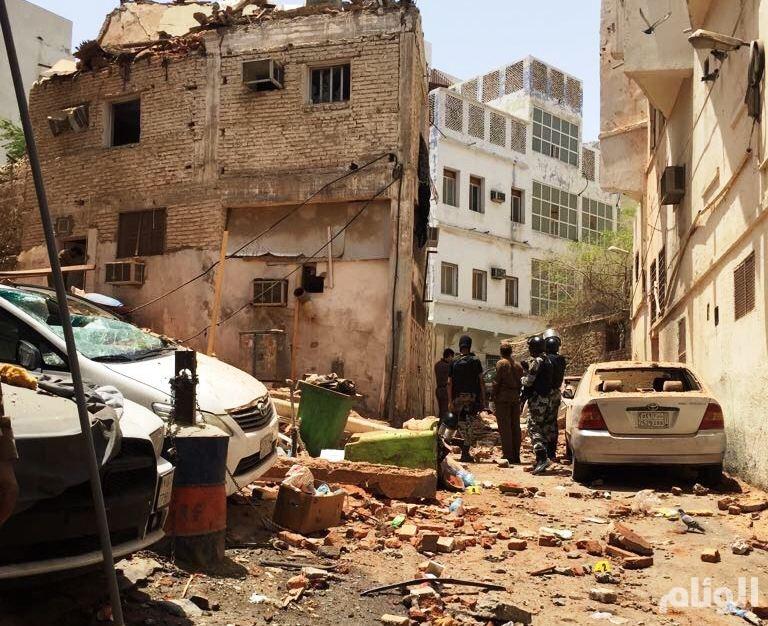 هلاك انتحاري بتفجير نفسه في مكة المكرمة