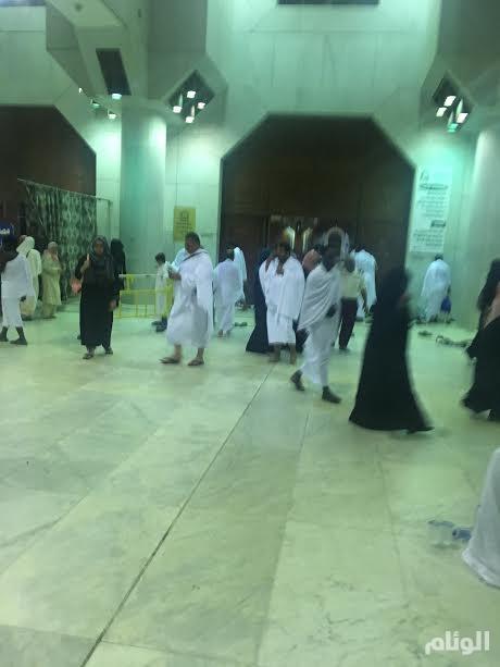 «الوئام» ترصد حركة الزوار والمعتمرين لمسجد التنعيم