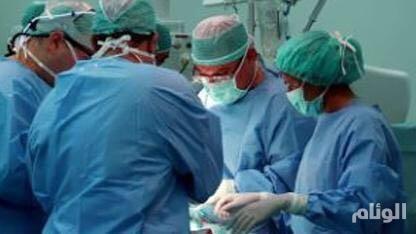 استئصال ورم من دماغ مريضة بمستشفى الامام عبدالرحمن في الرياض