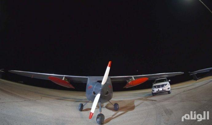 بالصور.. «العلوم والتقنية» تنجح في تحويل طائرة مأهولة إلى طائرة بدون طيار