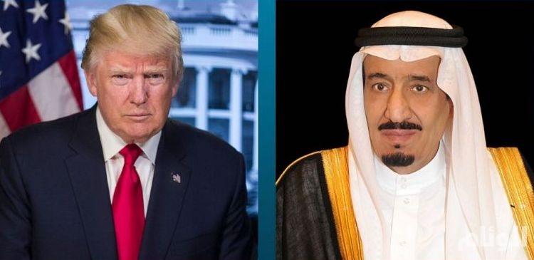 خادم الحرمين في اتصال بترامب : المملكة مستمرة في مكافحة الإرهاب