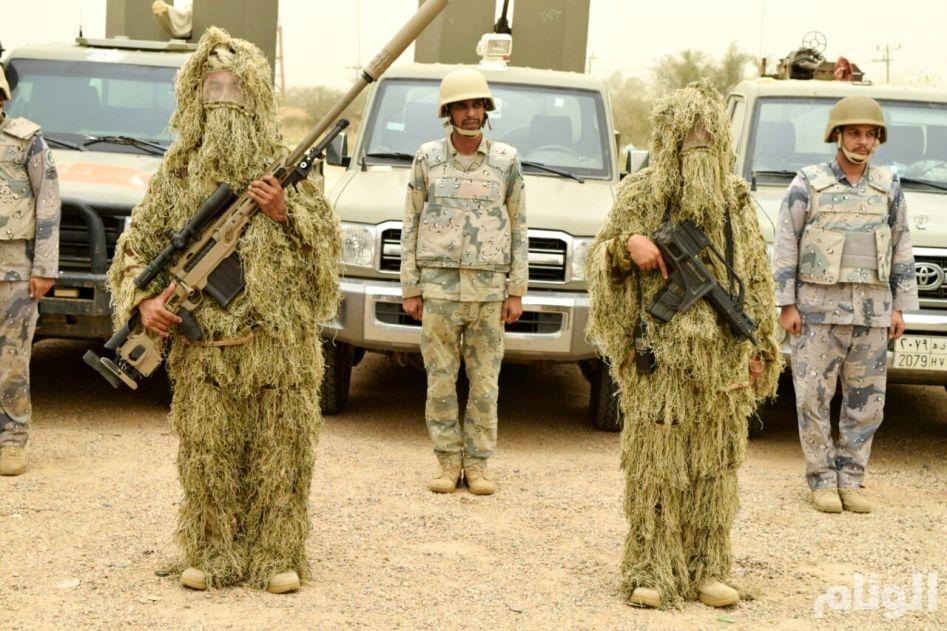حماة الوطن يزرعون الأمل فى قلوب اليمنيين و«الوئام» تشهد بطولات جند سلمان على حدود جازان