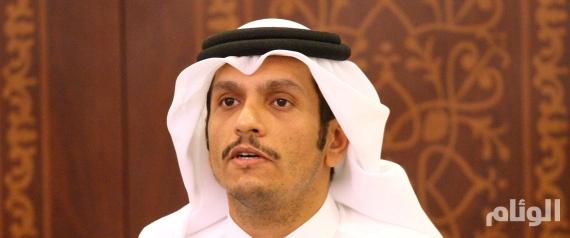 وزير خارجية نظام قطر في الكويت لتسليمها رد الدوحة على المطالب الخليجية