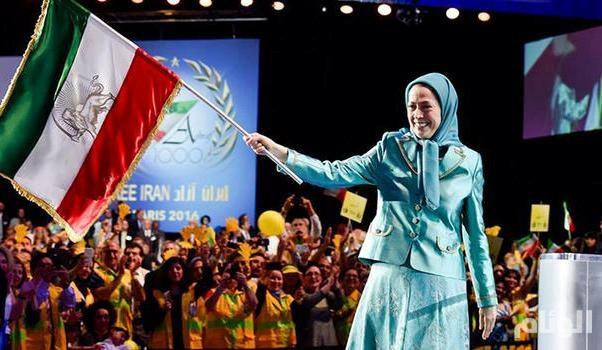 عشرات الآلاف من الإيرانيين يتوافدون لباريس للمطالبة بإسقاط النظام الإيراني