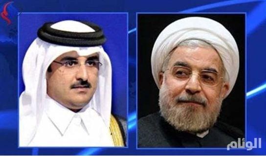 تميم يبحث مع روحاني إقامةقاعدة عسكرية ايرانية في قطر