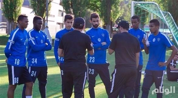 الهلال السعودي يختبر شبابه في البطولة العربية