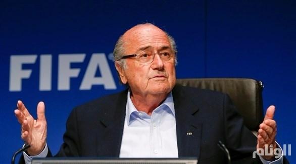 بلاتر يكشف عن سر خطير بشأن استضافة قطر لكأس العالم