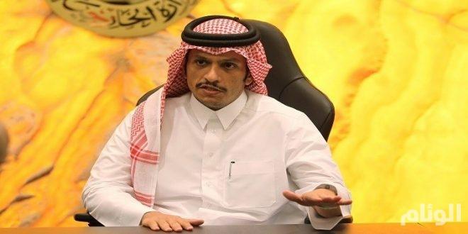 وزير الخارجية القطري ينسف جهود أمير الكويت ويدافع عن «جزيرة الفتنة»