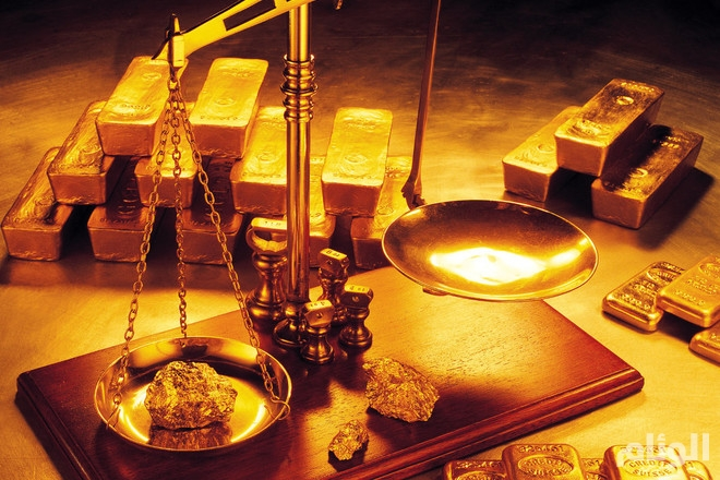 أسعار الذهب ترتفع توقعاً لتباطوء معدلات رفع الفائدة الأمريكية